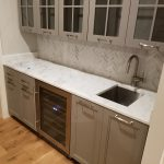 Super White Kitchen island