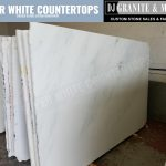 New 2017 Super White Quartzite slab Inventory