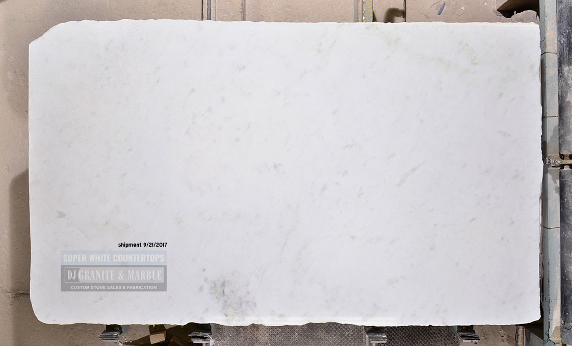 Super white quartzite slab white ship 9-17