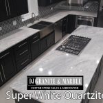 superwhite Kitchen dark- cabinets chicago il 1