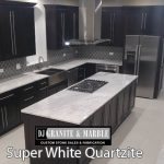 superwhite Kitchen dark- cabinets chicago il 4